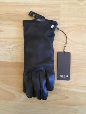Roeckl Faux Leather Gloves black