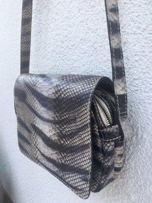 """Damenhandtasche """"Snake"""" von Liebeskind; Grau-blau"""