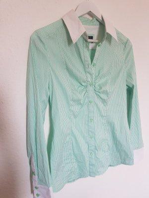 Apange Shirt Blouse white-mint