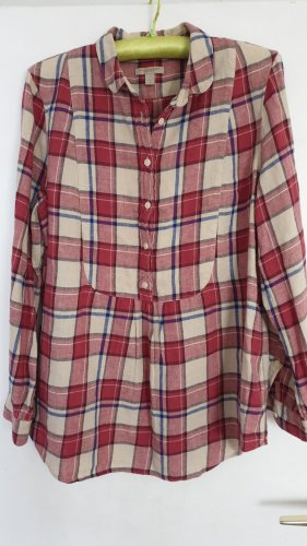 Burberry Brit Flannel Shirt multicolored mixture fibre