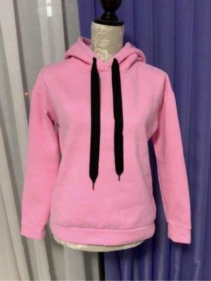 Glamorous Maglione con cappuccio rosa-rosa