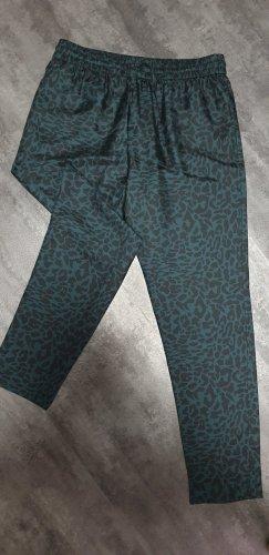 Comptoir des Cotonniers Jersey Pants black-petrol silk