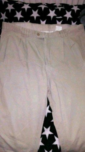 Rosner Drainpipe Trousers cream