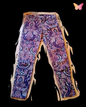 Sisley Jersey Pants pink-lilac