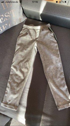 Colloseum Pantalone a 7/8 argento-nero