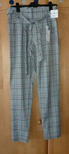 Denim 1982 Pantalón de pinza alto gris oscuro-gris