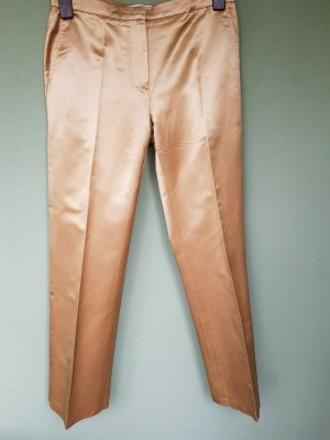 Max Mara Suit Trouser gold-colored silk