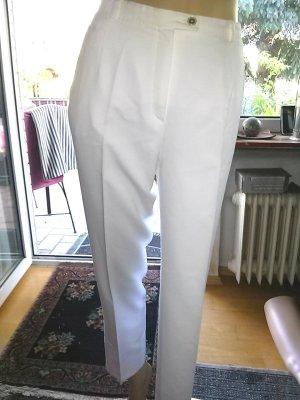 Atelier Gardeur Stoffen broek wit Gemengd weefsel