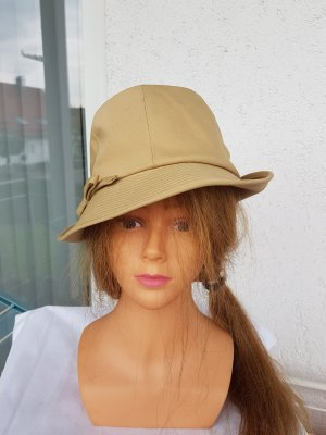 Chapeau feutre beige