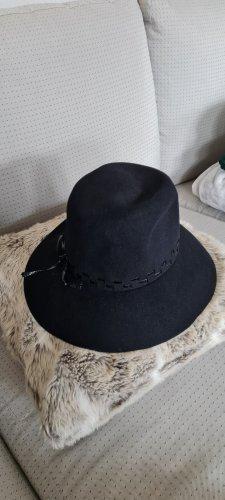 Ohne Chapeau en laine noir