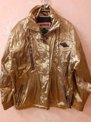 Allsport Sports Jacket gold-colored