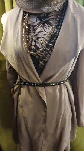 Alba Moda Cardigan gris clair-taupe