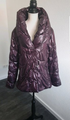 Gil Bret Quilted Jacket brown violet