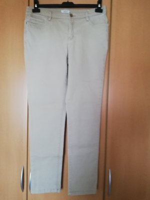 Damenjeans in Beige, Stretch, Gr. 40, C&A