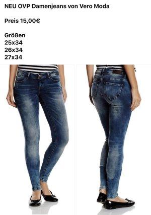Vero Moda Jeans skinny bleu