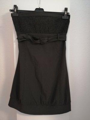 Jennifer Taylor Off-The-Shoulder Dress anthracite