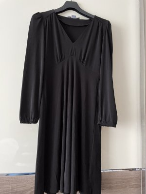 Ashley Brooke Robe trapèze noir polyester