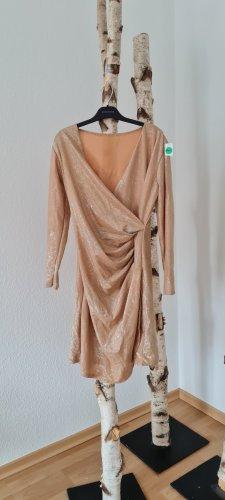 Damenkleid in gold gr. M