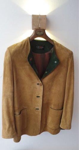 Admont Blazer en cuir beige cuir