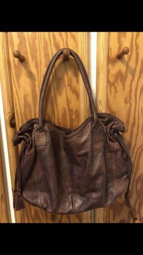 Damenledertasche handgefertigt