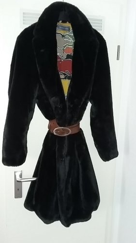 Change by White Label Winter Coat black polyester