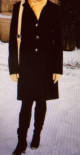 Benetton Wool Coat dark brown