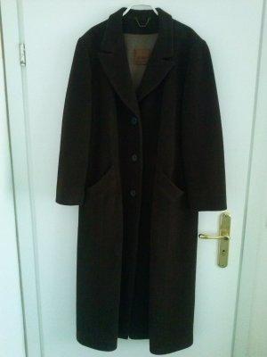 Gil Bret Cappotto in lana marrone scuro Tessuto misto