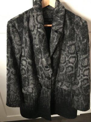 Damenmantel expresso fashion NL grau/schwarz ca Gr. L/XL
