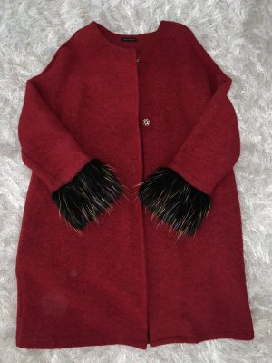 0039 Italy Oversized Coat multicolored