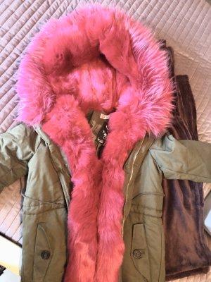 Outdoor Jacket khaki-pink
