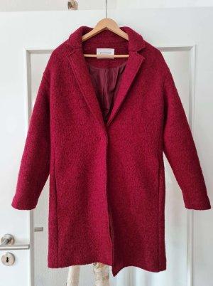 Promod Oversized Coat bordeaux