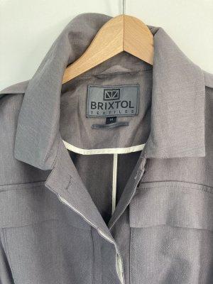 Brixtol Textiles Gabardina gris Lino