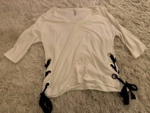 Stradivarius Lange top wit