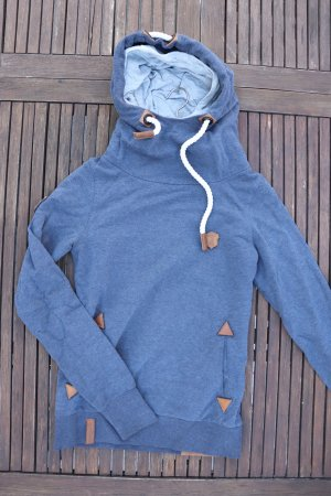 Naketano Hooded Sweater multicolored cotton