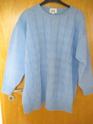 Damenpullover / Damen Pulli, hellblau, Gr. XL