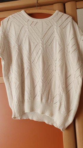 Short Sleeve Sweater oatmeal linen