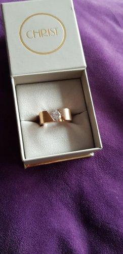 Christ Ring rose-gold-coloured