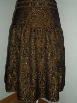 Dorothee Schumacher Broomstick Skirt brown-black polyester
