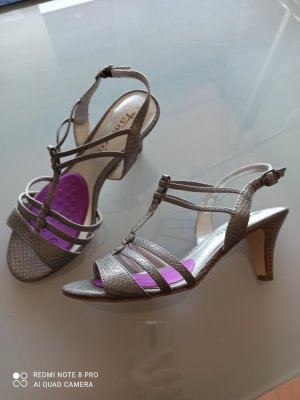 Tamaris Strapped pumps silver-colored-grey