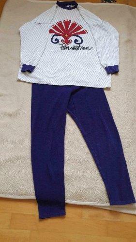Pyjama violet coton