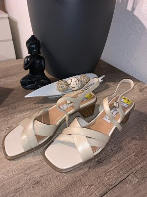 Janet D Strapped High-Heeled Sandals multicolored