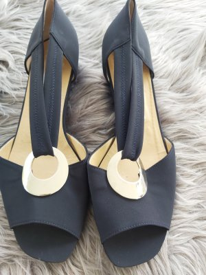 Ferdy Nando Backless Pumps dark blue