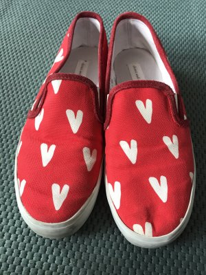 Chinti and parker Slip-on Shoes white-red