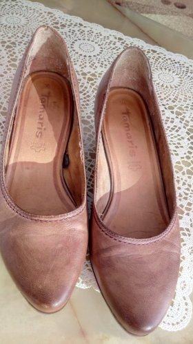 fashletics by Tamaris Zapatos de cuña marrón