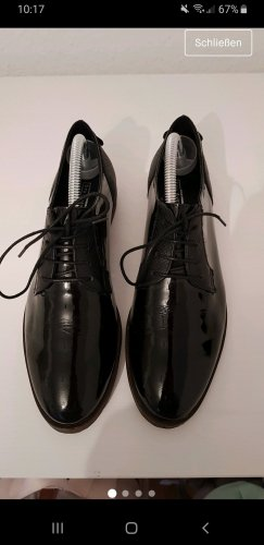 5th Avenue Wingtip Shoes black