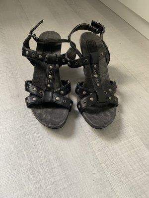 Esprit Aanrijg Pumps zwart-zilver