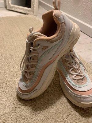 Fila Sneakers met veters wit-roze