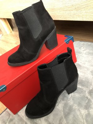H&M Botki czarny