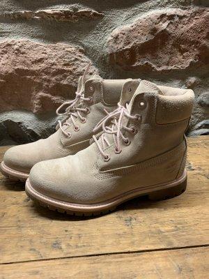 Damenschuhe Boots Timberland Farbe light rosé/beige'