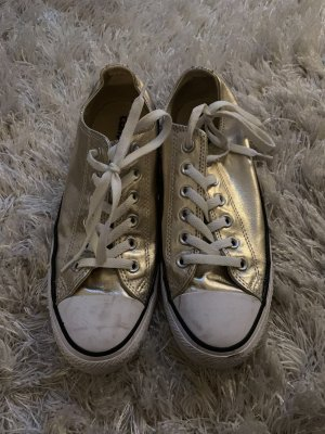 Converse Lace Shoes white-gold-colored